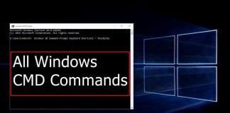 A-Z Windows CMD Commands List