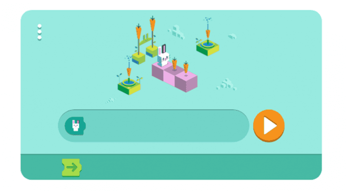 Google creates first-ever coding doodle to mark 50 years of kids coding