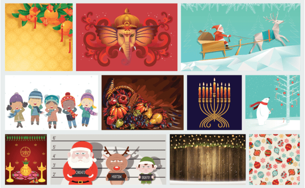Generate Custom Holiday Marketing Visuals With These Collection