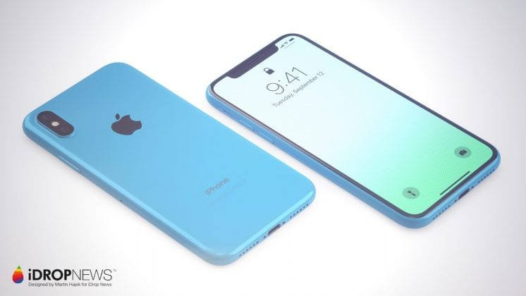 Apple iPhone Xc: A Colourful And Affordable Apple iPhone X Concept
