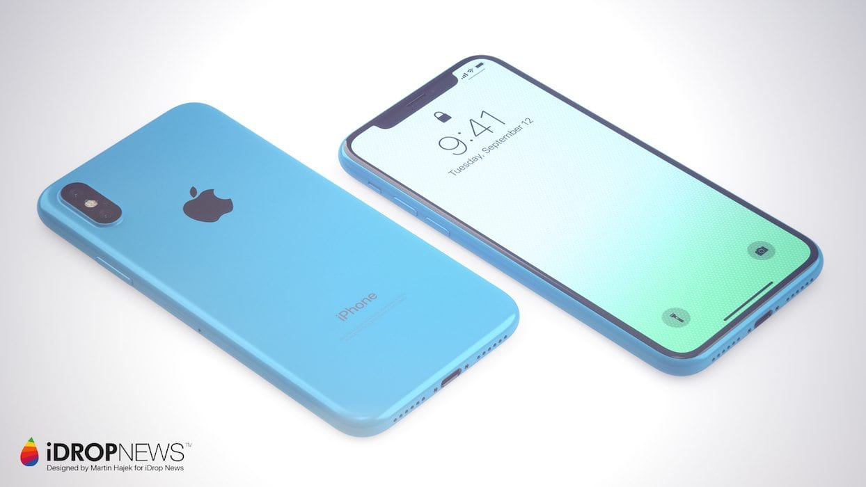 apple iphone xc a colourful and affordable apple iphone x concept techworm. Black Bedroom Furniture Sets. Home Design Ideas