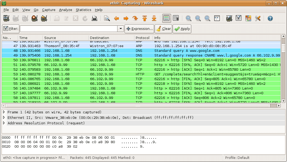 Best Hacking Tools for Windows, Linux and OS X - Wireshark