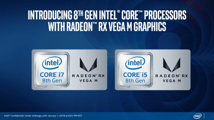 Intel Introduces Its New 8th-Gen Core Processor with Radeon RX Vega M Graphics