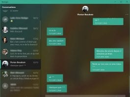 Microsoft updates messaging app in Windows 10