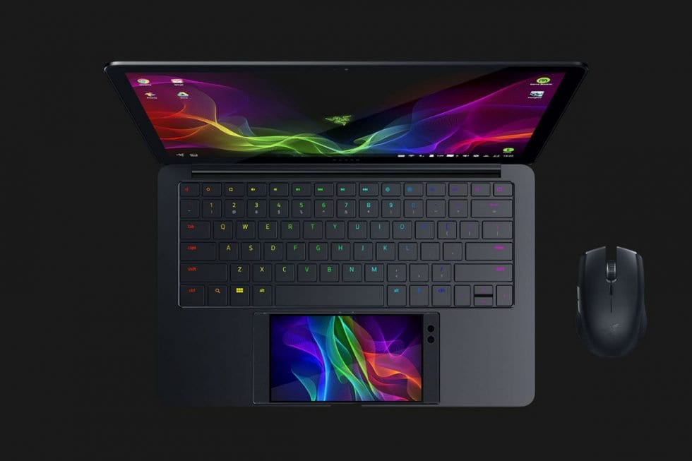 Razer's Project Linda is a notebook powered by the Razer Phone