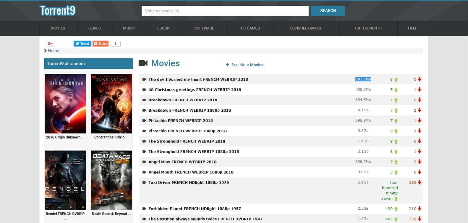 torrent9- Best torrent sites