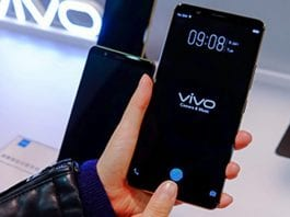 Vivo shows off its in-display fingerprint reader, the first in the phone business to do so