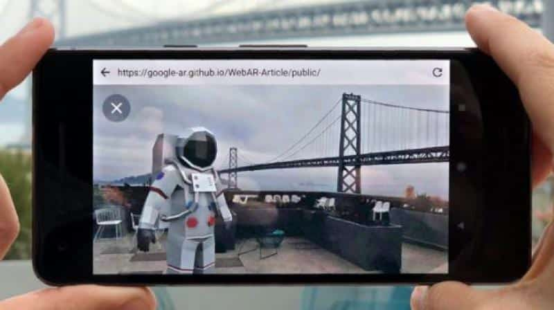 Google Chrome to get AR with downloadable 3D objects