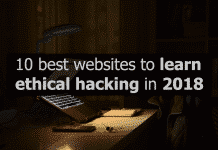 Top 10 Websites To Learn Ethical Hacking In 2018