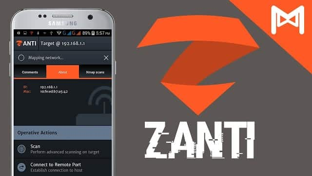 10 Best Android Hacking Apps And Tools For 2018- zanti