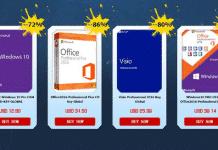 Windows licenses for under 13 USD!(10% promote code)