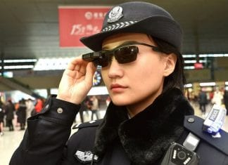Chinese Police Now Wear Smart Glasses With Facial Recognition Technology
