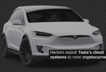 Hackers exploit Tesla's cloud systems to mine cryptocurrency