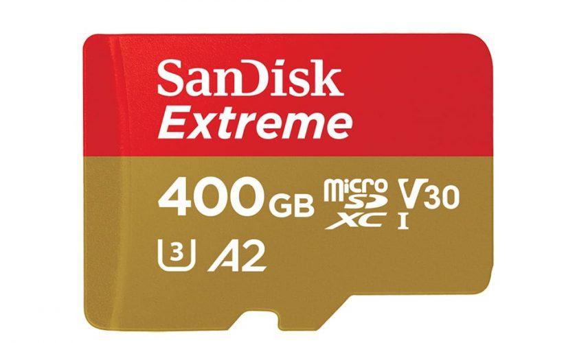 Western Digital Announces World's Fastest 400GB SanDisk Extreme microSD card