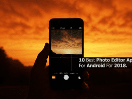 10 Best Photo Editor Apps For Android For 2018