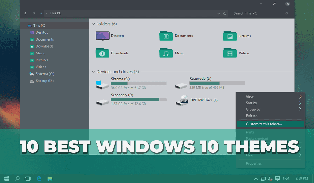 10 best windows themesskins to improve your windows 10 look