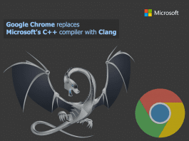 Google Chrome ditches Microsoft's C++ compiler for Clang