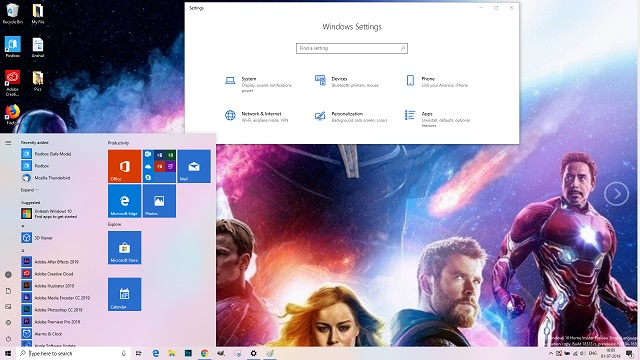 Windows-10-Avengers-Endgame-theme