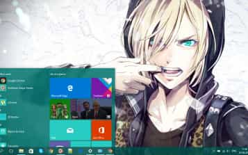 anime theme - Best Windows 10 Themes and Skins