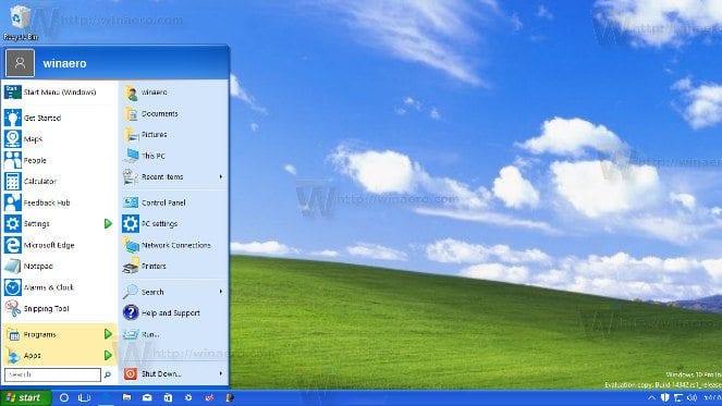 Best Windows 10 Themes- windows xp