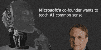 Microsoft's co-founder wants to teach AI common sense