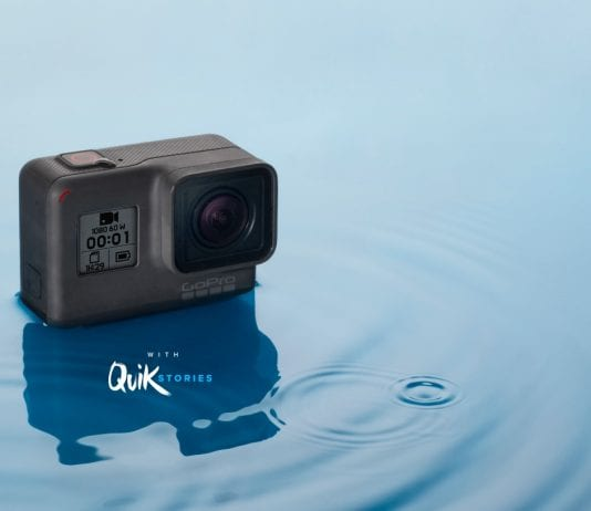 gopro entry level action camera with touch screen