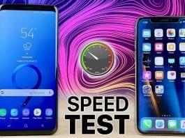 Samsung's Galaxy S9+ beats iPhone X in speed test