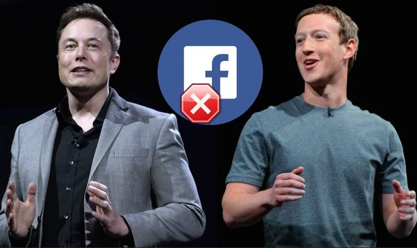 Elon Musk deletes SpaceX and Tesla pages from Facebook