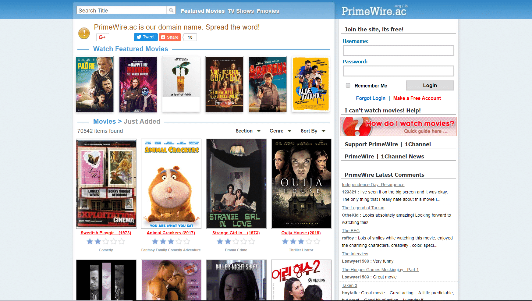 123movies.is alternative- primewire