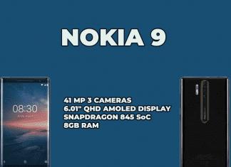 Nokia 9 triple camera