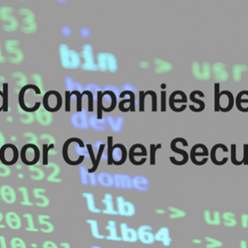 Should Companies be Fined for Poor Cyber Security?