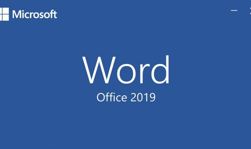 word office 2019