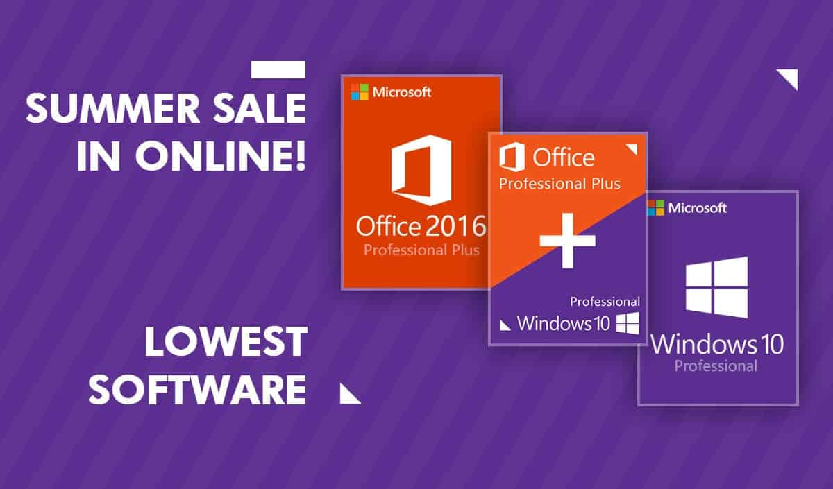 Goodoffer24 Summer Sale Windows Pro 1106 Office 2016 2916 Microsoft And More