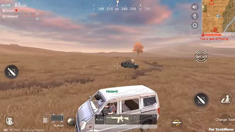 Game like PUBG Mobile for Android and IOS