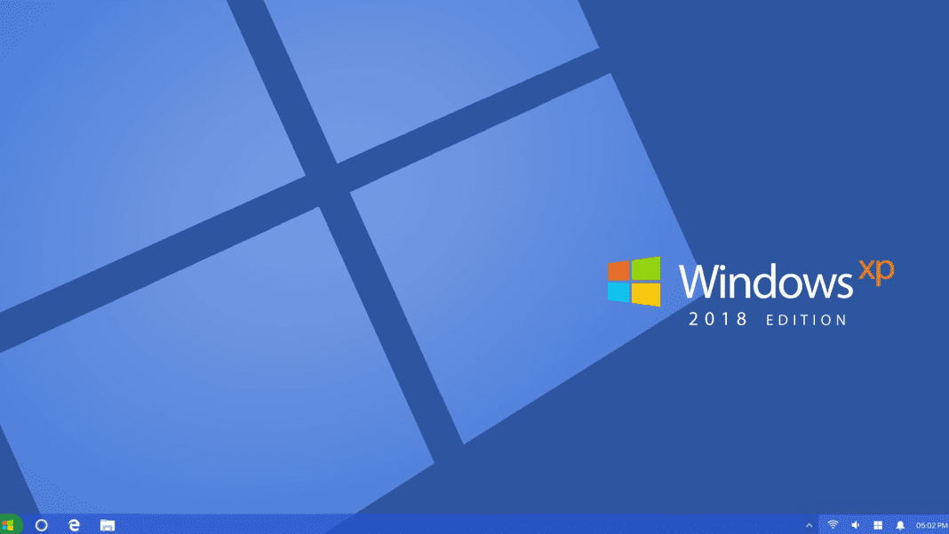 Windows XP 2018 Edition: This Concept Will Make You Fall In Love With It
