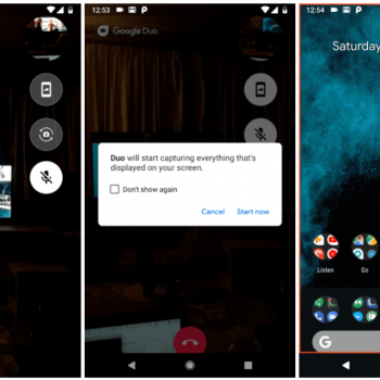 Google Duo Rolls Out Screen Sharing Feature, Here's How To Get It