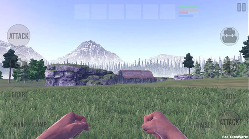 Vast Survival a game of Battle Royale genre