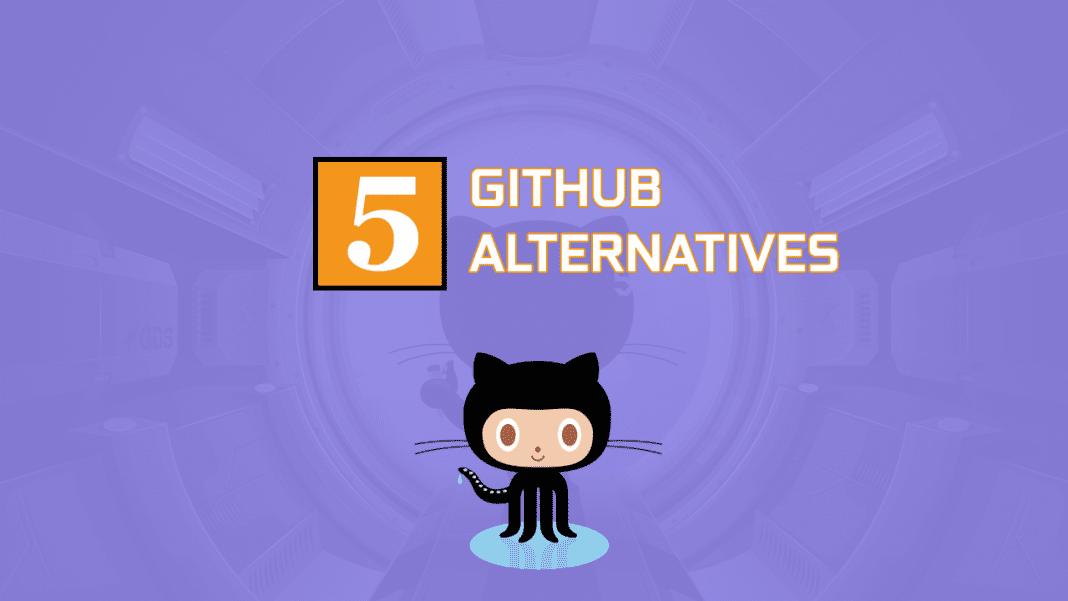 5 best github alternatives