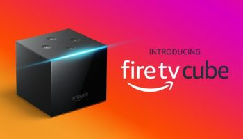 Amazon Fire TV cube box