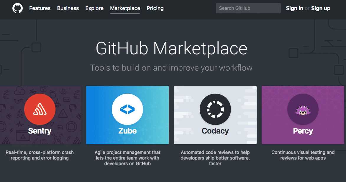 GitHub Marketplace is allowing developers to upload apps for