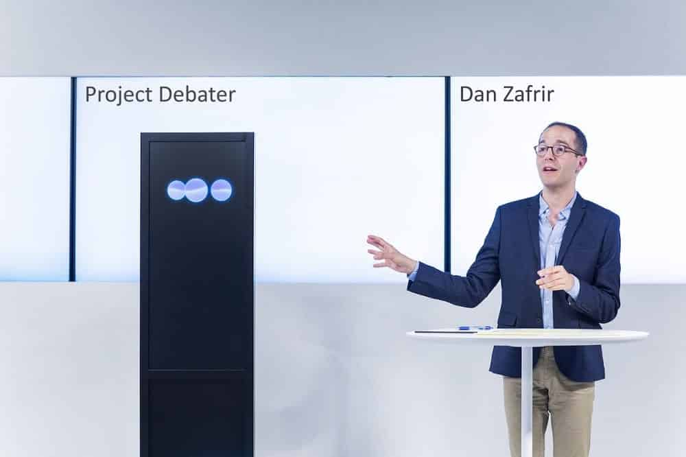 IBM unveils an artificial intelligence that can debate with humans