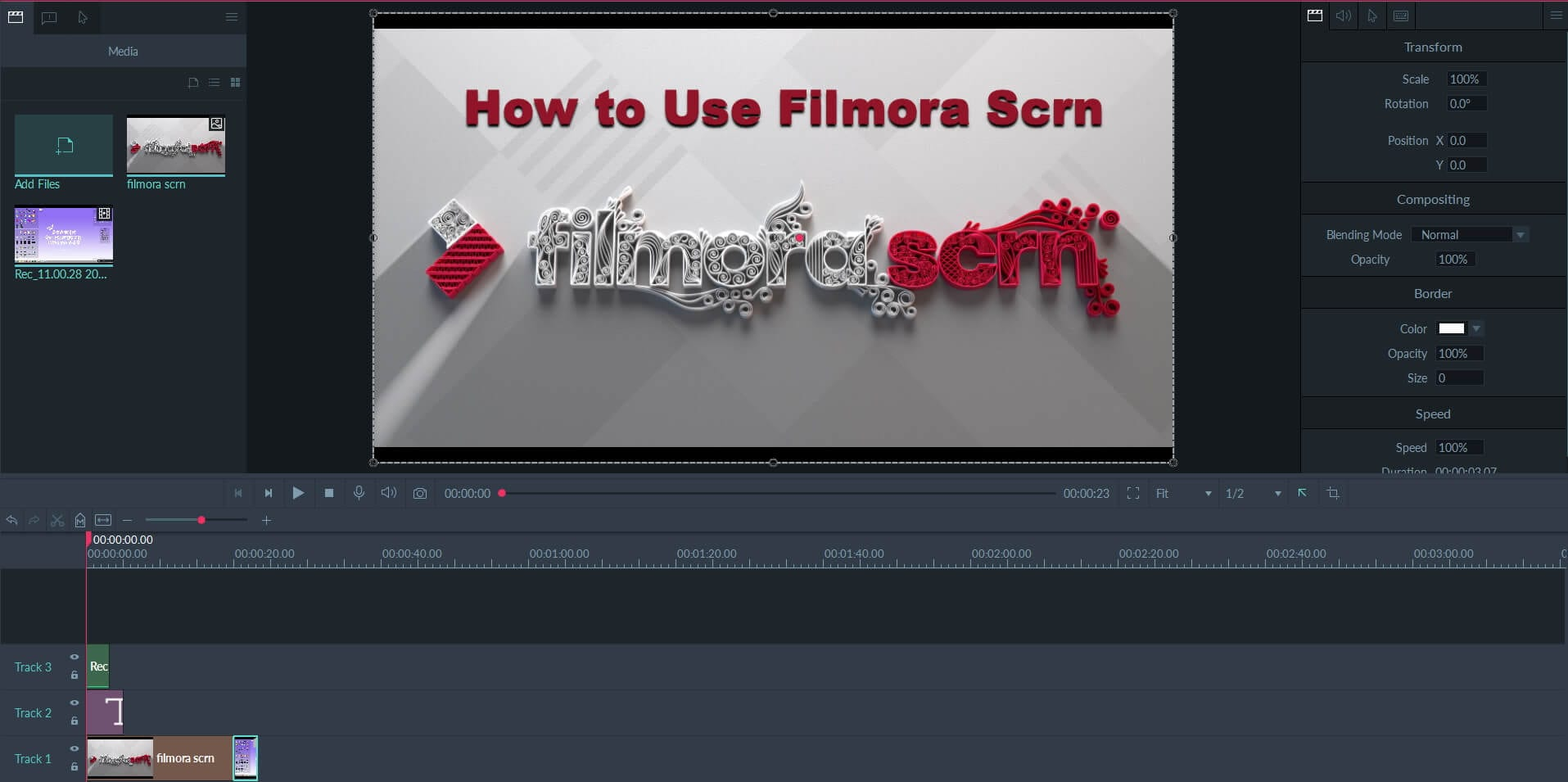 - filmora scrn editing interface - How to Record Screen on Windows OS? » TechWorm
