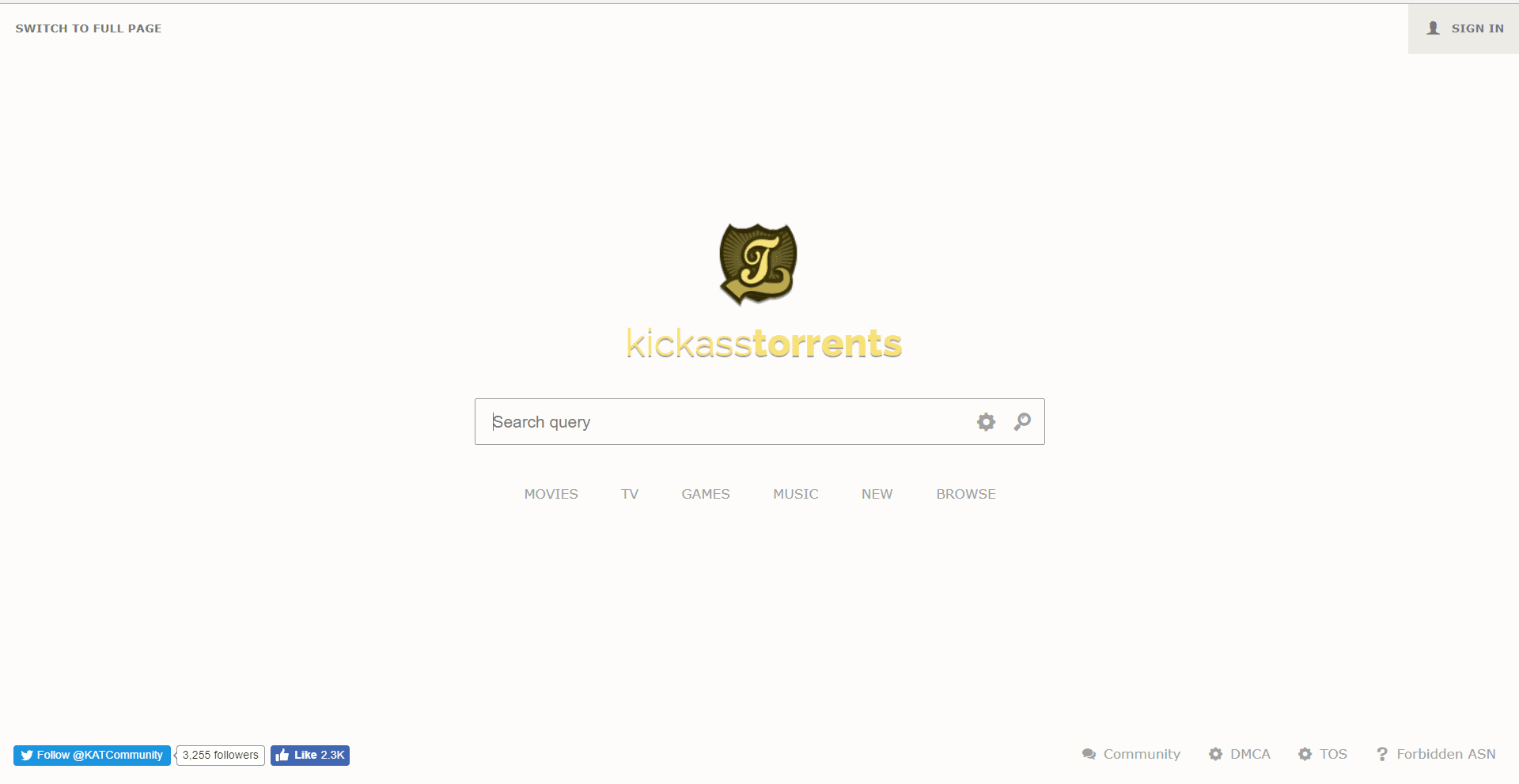 kickasstorrents- best pirate bay alternatives