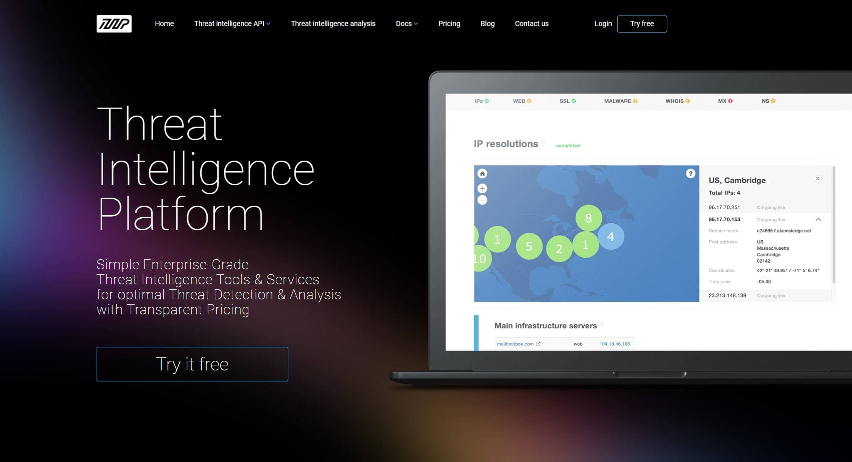 - thumb 1 - Threat Intelligence Platform on War Against Cybercriminals » TechWorm