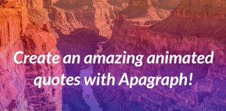 Enjoy New Animated Themes from Apagraph