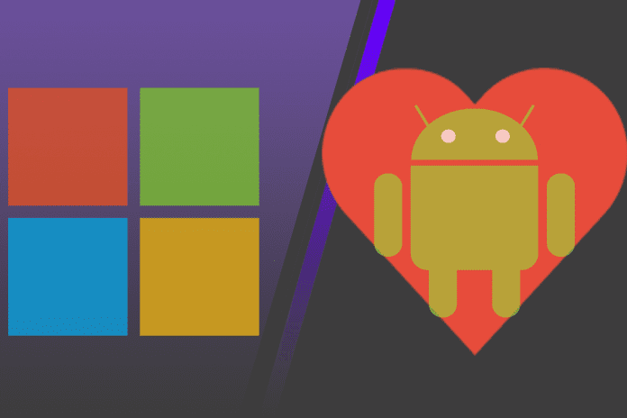 Microsoft rumored to be working on its own Android smartphone