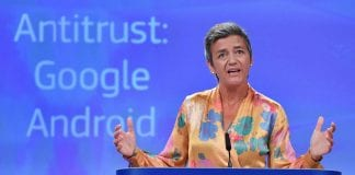 EU slaps Google with record $5 billion fine in Android Antitrust Case