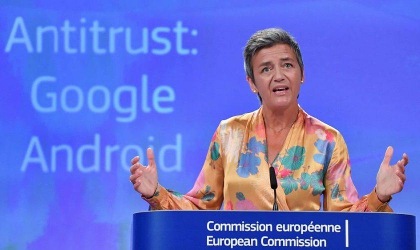 EU slaps Google with record $5 billion fine in Android Antitrust Case