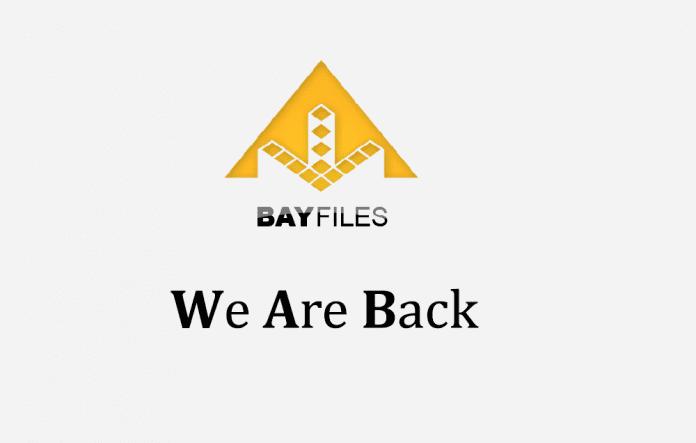 Former Pirate Bay Cyberlocker 'BayFiles' Is Back!