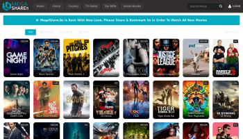 Best 3 alternatives to the popular movie streaming website, MegaShare - 2018